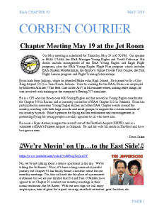 May 2016 Corben Courier