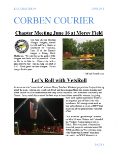 June 2016 Corben Courier
