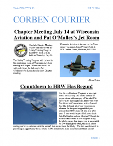 July 2016 Corben Courier