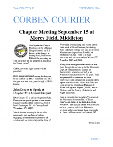 September 2016 Corben Courier