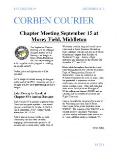 September 2016 Corben Courier