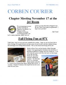 November 2016 Corben Courier