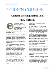 March 2017 Corben Courier