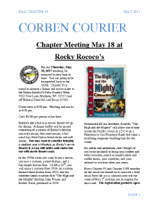 May 2017 Corben Courier