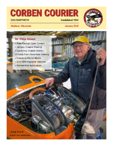 January 2018 Corben Courier