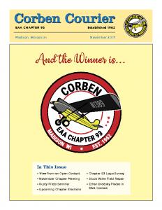 November 2017 Corben Courier